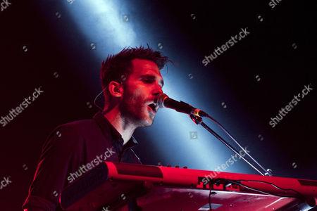 Editorial image of OneRepublic in concert, Vector Arena, Auckland, New Zealand - 16 Nov 2013