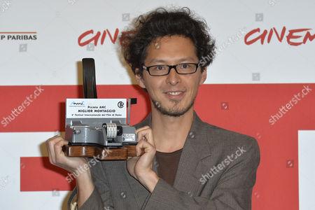 Stock Image of AMC Best Editing Award at Johannes Hiroshi Nakajima