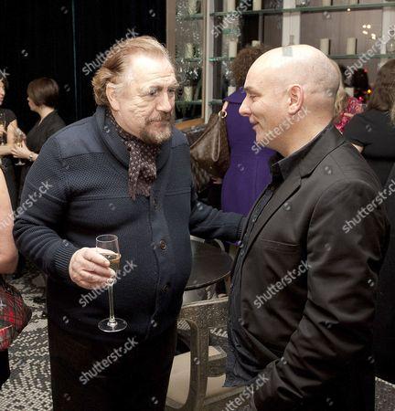 Brian Cox and Alan de Pellette