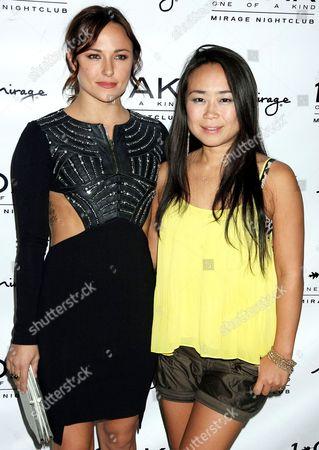Stock Image of Briana Evigan and Mari Koda