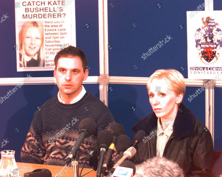 Stuart Smith And Alison Smith Owners Of Gemma The Dog (not Shown) Who Was Being Walked By Kate Bushell When She Was Murdered- They Are Seen Here At Police Press Conference 1997.