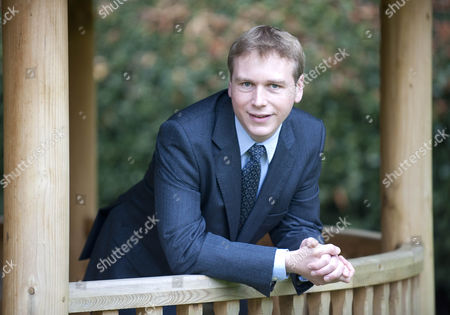 Stock Photo of Grant Harrold A Former Butler To Prince Charles At Highgrove Who Is Now Helping To Train Butlers.