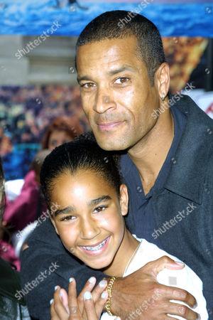 Phil Morris and daughter Rachel