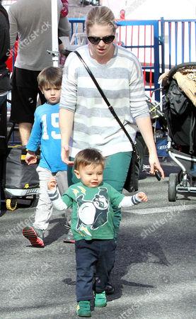 Melissa Joan Hart and son Tucker McFadden