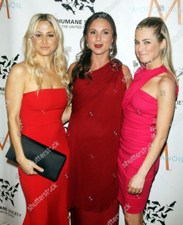 Kimberly Ovitz, Georgina Bloomberg, Amanda Hearst