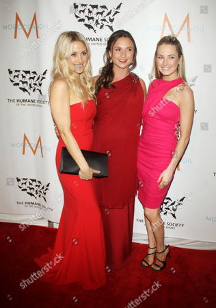 Kimberly Ovitz, Georgina Bloomberg, Amanda Hearst