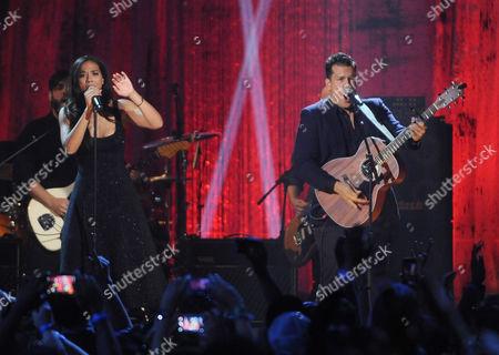 Amanda Sudano and Abner Ramirez