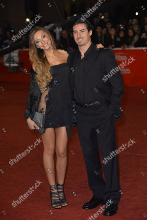 Stock Picture of Alessia Tedeschi and guest