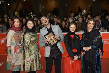 Editorial picture of Red Carpet Awards Ceremony, 8th International Rome Film Festival, Italy - 16 Nov 2013