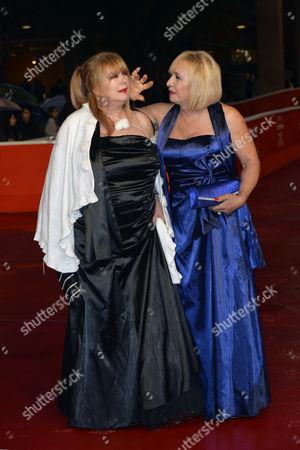 Beatrice Della Pelle and Marianna Dadiloveanu
