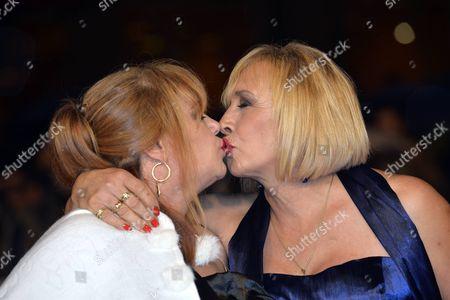 Stock Photo of Beatrice Della Pelle and Marianna Dadiloveanu