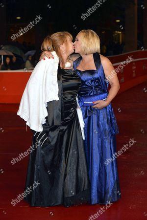 Stock Picture of Beatrice Della Pelle and Marianna Dadiloveanu