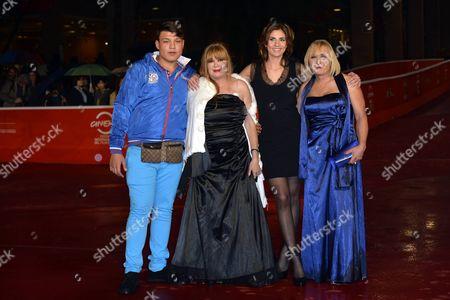 Stock Picture of Elisa Amoruso, Marianna Dadiloveanu, Beatrice Della Pelle, Daniel Acciobandinei