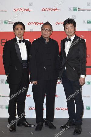 Takashi Miike, Satoshi Judai, Hiroaki Harada