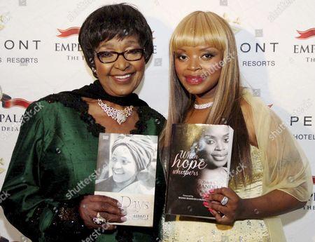 Winnie Mandela and Zoleka Mandela