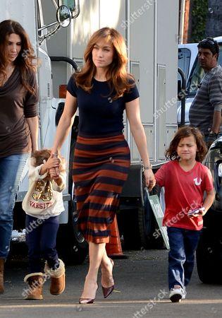 Emme Anthony, Jennifer Lopez and Max Anthony