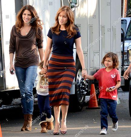 Lynda Lopez, Emme Anthony, Jennifer Lopez and Max Anthony