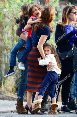 Max Anthony, Jennifer Lopez and Emme Anthony