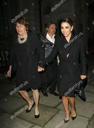 Eva Longoria and mother Ella Eva Mireles