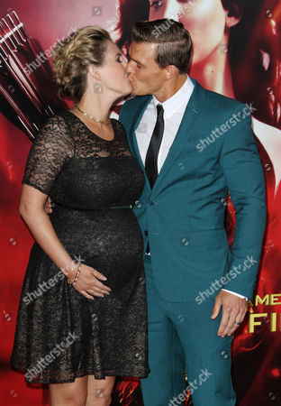 Alan Ritchson and wife Catherine Ritchson