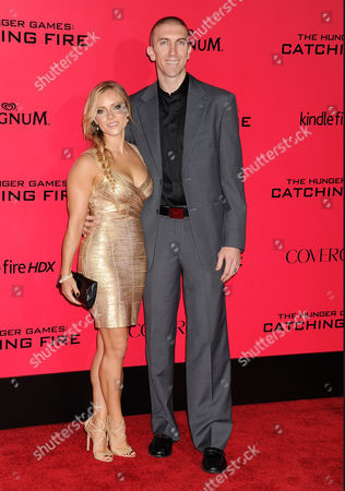 Stock Image of Steve Blake and wife Kristin Blake