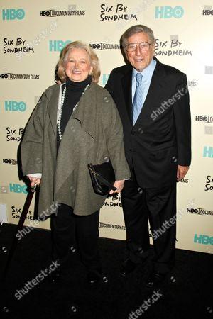 Stock Photo of Barbara Cook and Tony Bennett