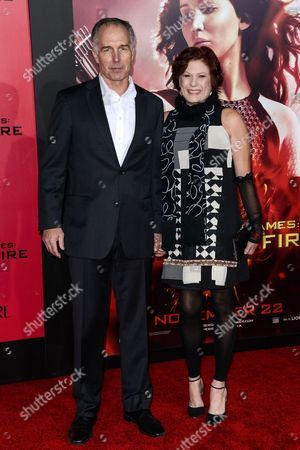 Editorial image of 'The Hunger Games: Catching Fire' film premiere, Los Angeles, America - 18 Nov 2013