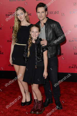 Peter Facinelli and daughters Luca Bella Facinelli and Lola Ray Facinelli