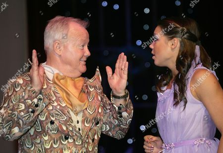 Stock Image of Anastasia Ignatyeva (lead dancer) and Keith Chegwin