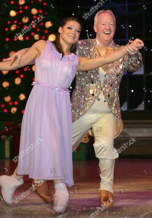 Anastasia Ignatyeva (lead dancer) and Keith Chegwin