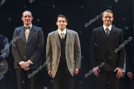 Nick Malinowski (Treacher), Tam Williams (Myers) and Scott Sparrow (Dr Swan)
