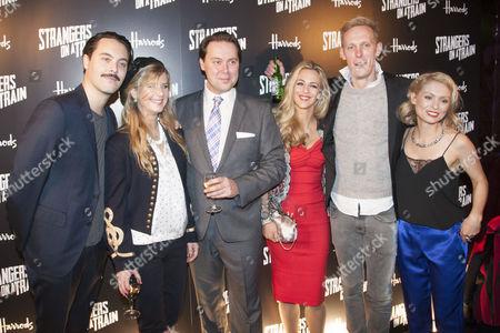 Jack Huston, Imogen Stubbs, Christian McKay, Miranda Raison, Laurence Fox and MyAnna Buring