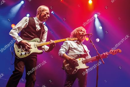 Status Quo - Francis Rossi and Alan Lancaster in concert at Wembley Arena, London
