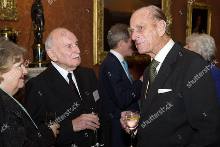 Prince Philip meeting 92-year-old poet Dennis Wilson