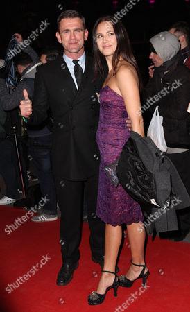 Scott Maslen and his wife Estelle Rubio