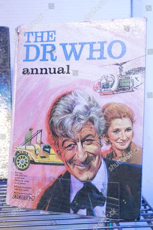 Stock Picture of Dr Who Memorabilia -
