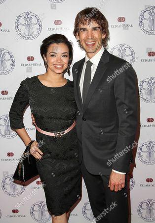 Anel Lopez Gorham and Christopher Gorham