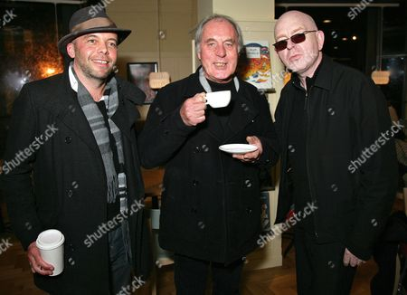 Mark Gardener, John Leckie and Alan McGee