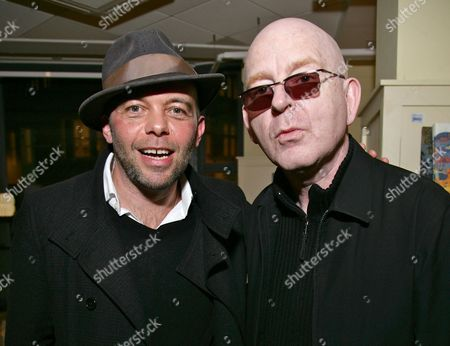 Mark Gardener and Alan McGee