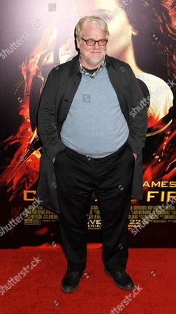 Editorial image of 'The Hunger Games: Catching Fire' film screening, New York, America - 20 Nov 2013