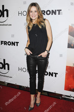 Editorial image of 'Homefront' film premiere, Las Vegas, America - 20 Nov 2013