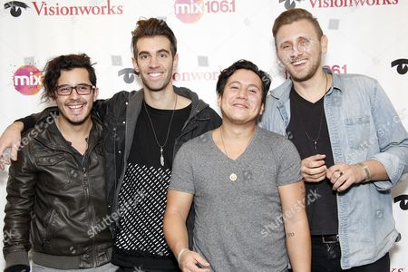 American Authors - Zachary Barnett, James Adam Shelley, Dave Rublin, Matt Sanchez