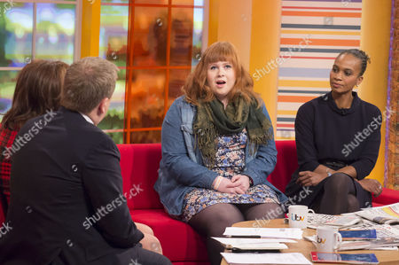 Aled Jones and Lorraine Kelly with Harriet Filmer and Laverne Antrobus