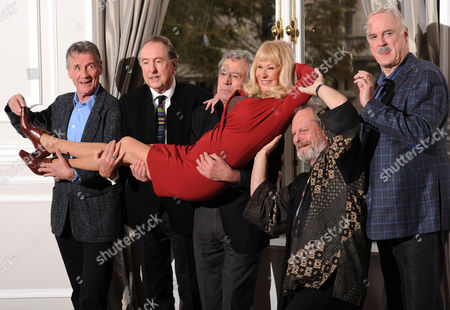 Monty Python Cast: Michael Palin, Eric Idle, Carol Cleveland, Terry Jones Terry Gilliam and John Cleese