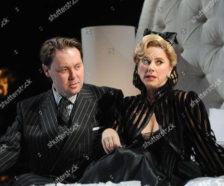 Christian McKay as Gerard, Imogen Stubbs as Elsie
