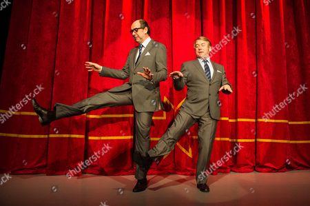 Ian Ashpitel (Ernie Wise) and Jonty Stephens (Eric Morecambe)