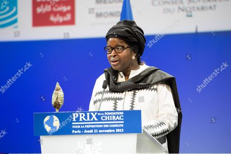 Stock Picture of Bineta Diop of NGO Femmes Africa Solidarite