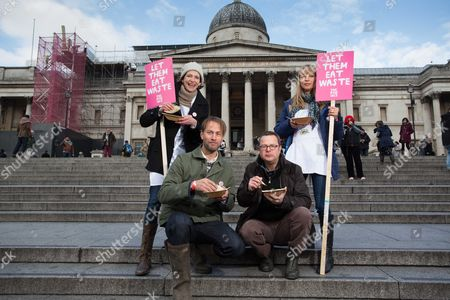 Tristram Stuart, Thomasina Miers, Hugh Fearnley-Whittingstall and Sara Cox