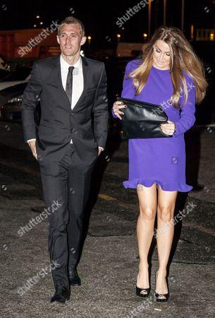 Stock Photo of Darren Fletcher and wife Hayley Grice