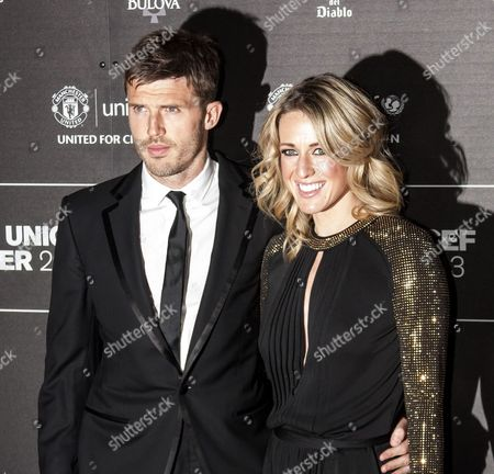 Stock Photo of Michael Carrick and wife Lisa Roughead